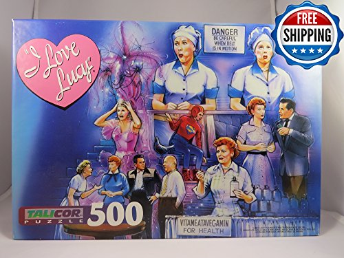 I Love Lucy 500 Piece Puzzle for sale  Delivered anywhere in USA