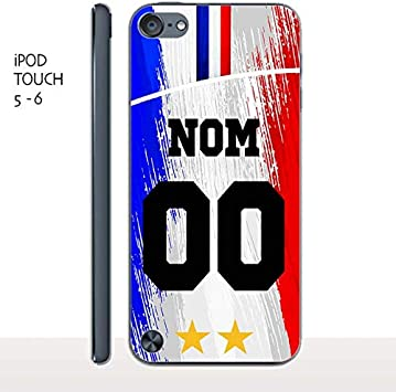 MYCOQUE Coque IPOD Touch 5/6 Foot France: Amazon.fr: High-tech