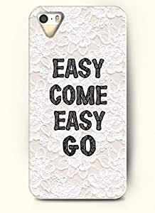 EASY COME EASY GO-iPhone 5/5s/5g Back Plastic Case