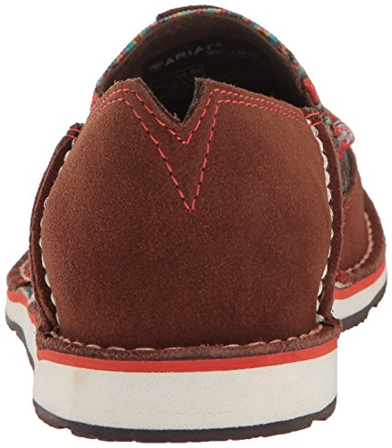 Ariat Donne Cabinato Scarpa Slip-on Sella Scamosciata Tan