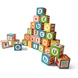 Uncle Goose Classic Lowercase ABC Blocks - Made in USA