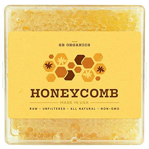 SB ORGANICS Honeycomb Honey Preservatives