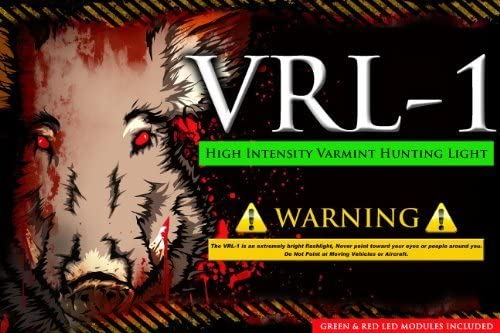 Varmint Light VRL-1 Hunting Rifle Light Package Hog Coyote Predator