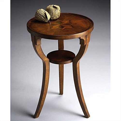 Ash Round End Table - 5