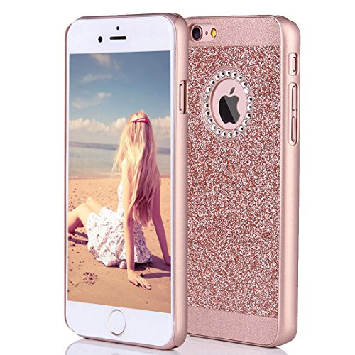 best website 644b5 74ca7 iPhone 6s Case Imikoko Fashion Luxury Protective Hybrid Beauty Crystal  Rhinestone Sparkle Glitter Hard Diamond Case Cover For iPhone 6s6