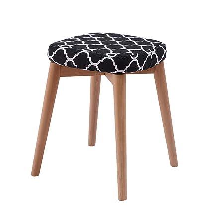 Magnificent Amazon Com Xmdyb Four Legged Stool Standing At 45 Cm High Ibusinesslaw Wood Chair Design Ideas Ibusinesslaworg