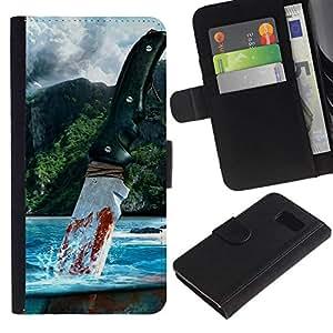 NEECELL GIFT forCITY // Billetera de cuero Caso Cubierta de protección Carcasa / Leather Wallet Case for Sony Xperia Z3 Compact // Muy lejos
