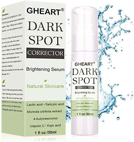Dark Spot Corrector, Brightening Serum for Face & Body, Effective Skin Lightening, Dark Spot Remover, Melasma Treatment with 4-Butylresorcinol, Lactic Acid, Salicylic Acid, Morinda Citrifolia Extract