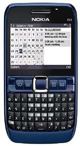 Nokia E63 - Teléfono Móvil Libre - Azul