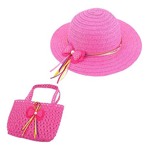 Large Rose Sun Hat - 4