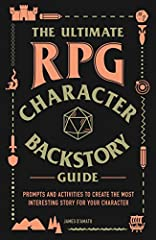 Ramp up your role-playing game (RPG) and make your character your own with this fun, interactive workbook—an essential addition to any player's gaming kit.You've chosen your class, bought your weapons, and rolled for your stats, and you're no...