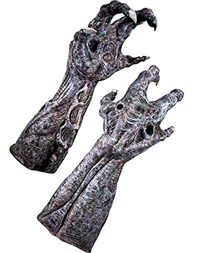 Rubie's Alien Vs Predator: Alien Deluxe Adult Latex Hands ()