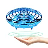 GuangTouL Mini Drone Kids Adults, Hand Controlled Flying Ball, Quadcopter Interactive Infrared Induction Flying Toys, 360° Rotation Free Hover Helicopter Beginner Drones Flying Toys