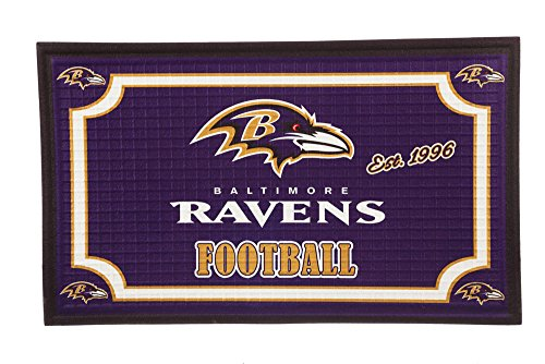Team Sports America 41EM3802 Baltimore Ravens Embossed Door -