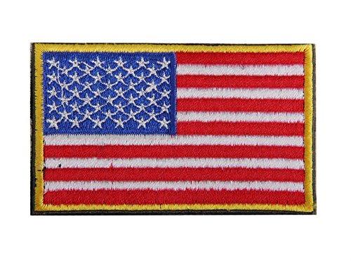 zhjz bandera de Estados Unidos conjunto bordado parche Badge