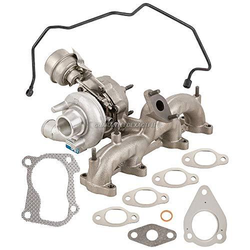 BorgWarner Turbo Kit w/Gaskets & Oil Line For VW Golf Jetta