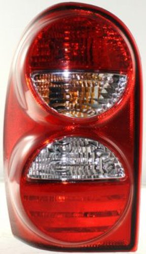 Crash Parts Plus Driver Left Side Tail Light Tail Lamp for 05-07 Jeep Liberty