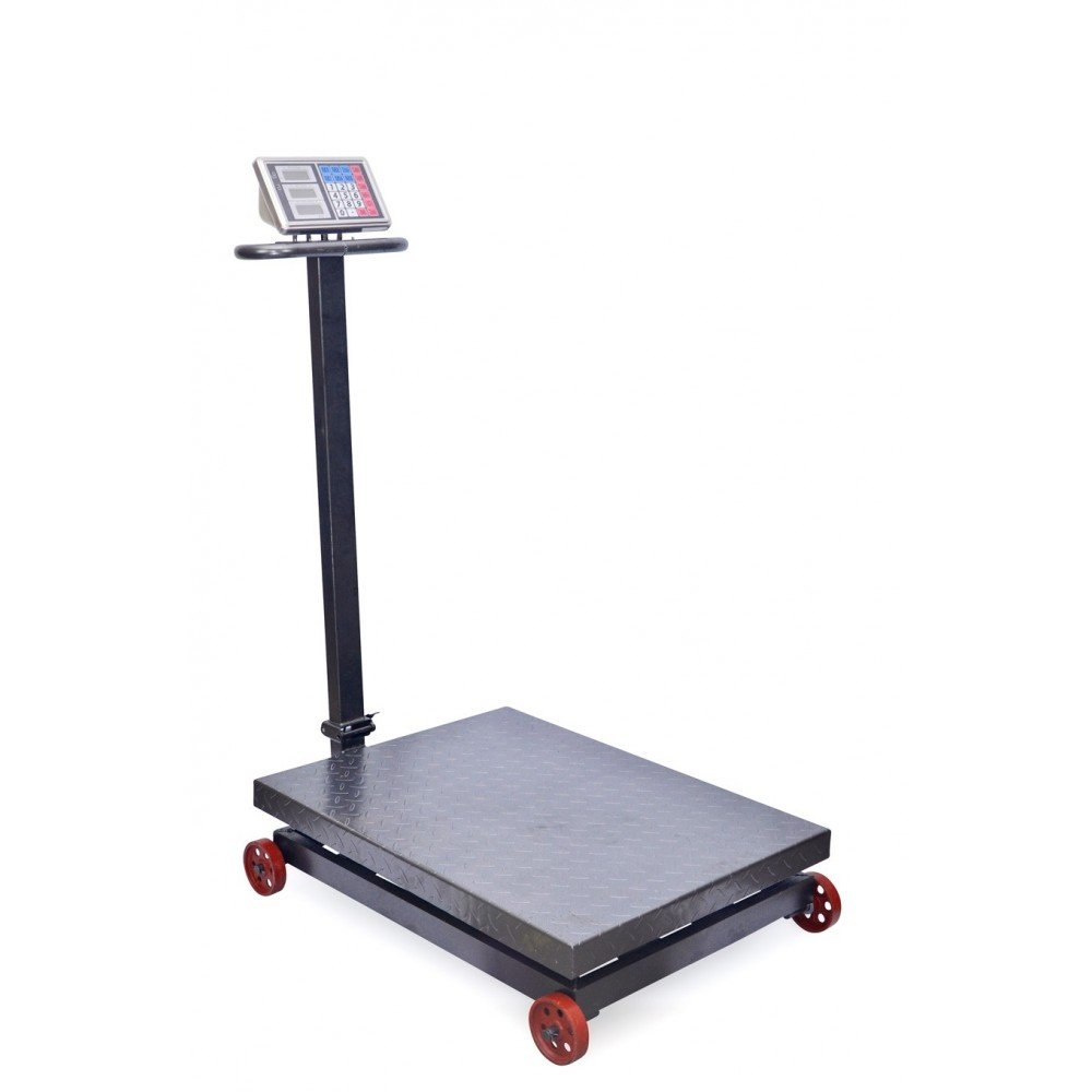Bascula Industrial de 1000Kg Balanza Plataforma 60x80Cm Reforzada y Plegable: Amazon.es: Bricolaje y herramientas