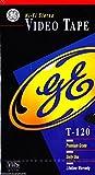 GE Hi-Fi Stereo T-120 Video Tape (Premium Grade)