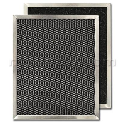"Carbon Range Hood Filter 8 3/4"" x 10 1/2"" x 3/8"" by American Metal"