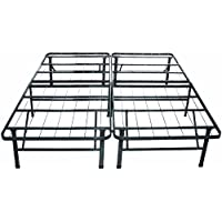 Viscologic Brands Platform Heavy Duty Metal Bed Frame/mattress Foundation (QUEEN)