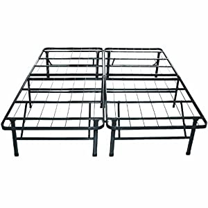 classic brands hercules heavyduty 14inch platform metal bed frame mattress foundation california king