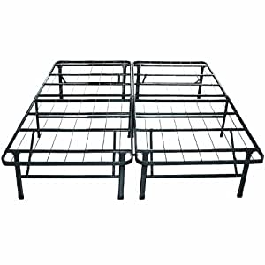 classic brands hercules platform heavy duty metal bed framemattress foundation queen