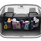 Premium Quality Auto Trunk Organizer. Durable Cargo Design with Adjustable Straps to Give You More Space in Your Car and Keep it Clean and Organized..