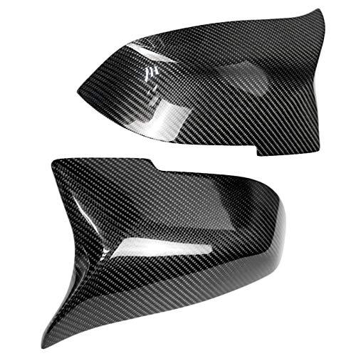 REFURBISHHOUSE F30 Couvertures De R/ÉTroviseurs Lat/ÉRaux De Style Remplacement en Fibre De Carbone M Look pour BMW S/ÉRie 1 F20 F21 F22 F23 F30 F31 F32 F33 F36 F87