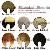 2.5'' Metal Desk Grommet - Color: Black Epoxy - 5 Pack