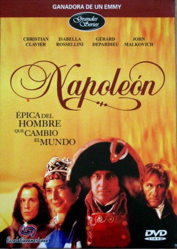 Napoleon (TV mini series) in Spanish [NTSC/REGION 1 & 4. Import-Latin America] 4-dvd boxset