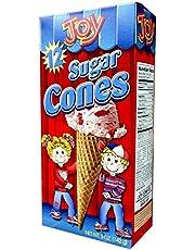 Joy Cone 12-Count SUGAR Ice Cream CONES 5oz