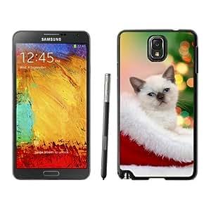 diy phone caseHot Sell Design Christmas Cat Black Samsung Galaxy Note 3 Case 40diy phone case