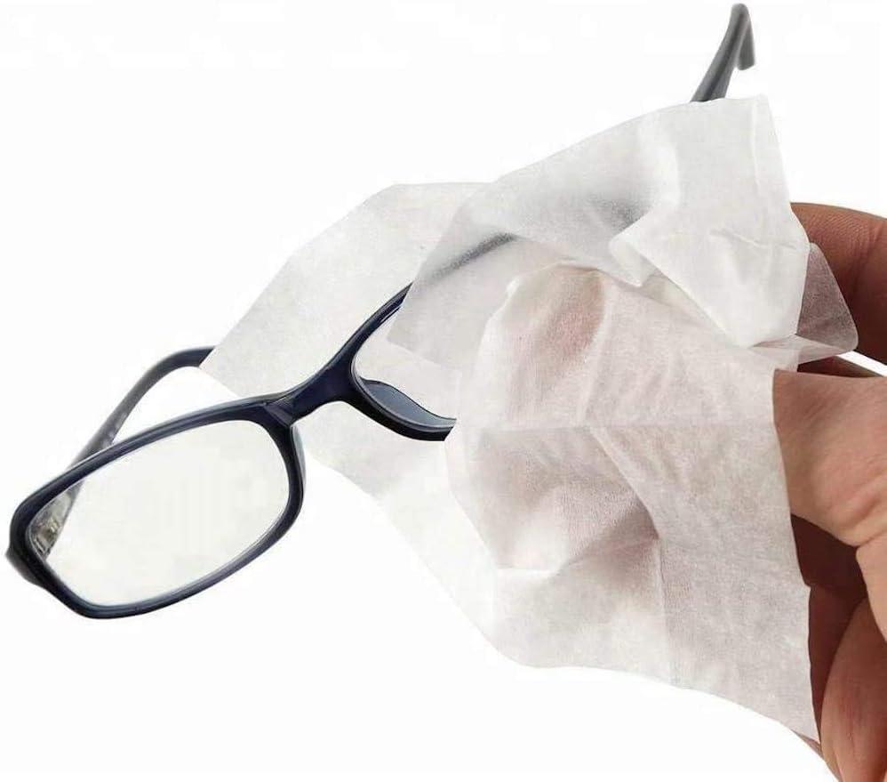 Healthpoint Lot de lingettes pour lunettes 624 emball/ées individuellement pour appareils photo jumelles et /écrans de smartphone