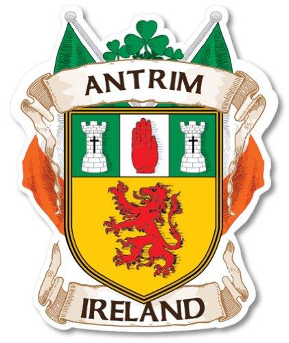 (Antrim County Ireland Irish Car Bumper)