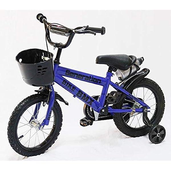 "18/"" con Estabilizadores 14/"" KY Bicicleta Infantil Bicicleta Girlskids Ni/ño 3 Colores del Muchacho 16/"" 12/"" Botella De Agua Y Soporte."