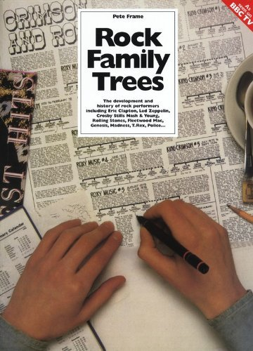 Pete Frame's Complete Rock Family Trees by Pete Frame (1993-03-05)