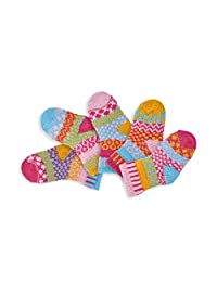 Solmate Socks - Mismatched Baby socks, Two pairs with a spare, Made in USA