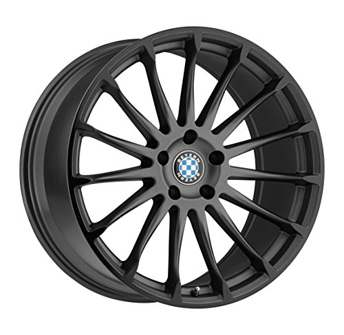 Beyern AVIATIC Grey Wheel with Painted Finish (18 x 9.5 inches /5 x 120 mm, 35 mm Offset)
