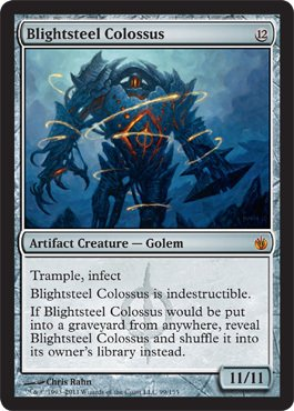 Magic: the Gathering - Blightsteel Colossus - Mirrodin Besieged