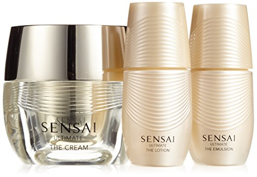 Kanebo Sensai Ultimate Femme/Woman - Gift Set - Cream (40 ml) / Lotion (16 ml) / Emulsion (16 ml)
