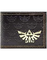 Cartera de The Legend of Zelda Triforce marrón