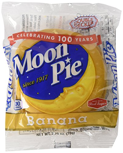 Pie Moon (Original Moonpie Double Decker - 9ct. Assorted Flavors (Banana))