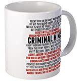 CafePress Criminal Minds Team Mug Unique Coffee Mug, Coffee Cup