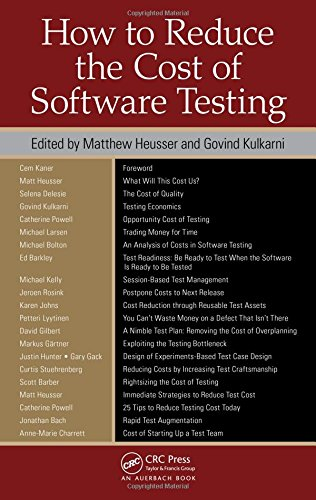 How to Reduce the Cost of Software Testing