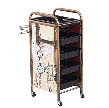 Amazon.com: Salon - Carrito de almacenamiento para ...