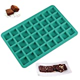 40-Cavity Square Caramel Candy Silicone Molds,Ice Cube Tray Molds,Chocolate Truffles Mold,Hard Candy Mold