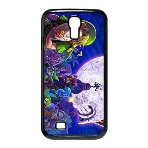 Samsung Galaxy S4 9500 Cell Phone Case Black_The Legend of Zelda Majora's Mask_007 Zfcsg
