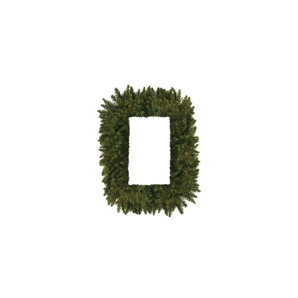 36 Camdon Fir Rectangular Artificial Christmas Wreath   Unlit