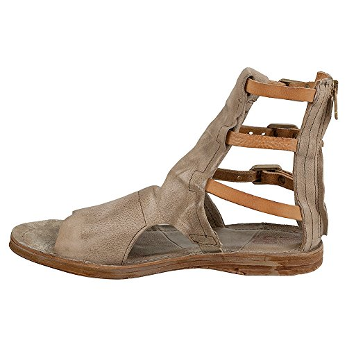 As98 Ryde Gladiateur Femme Sandale Taupe